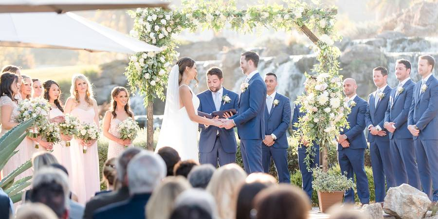Silver Creek Valley Country Club wedding South Bay