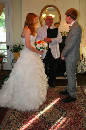 Holladay House Bed and Breakfast wedding Charlottesville