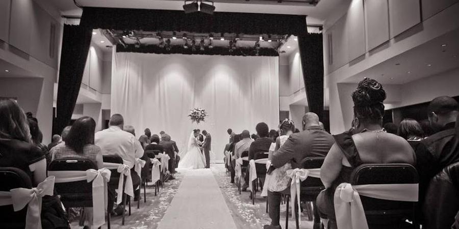 Dominion Arts Center wedding Richmond