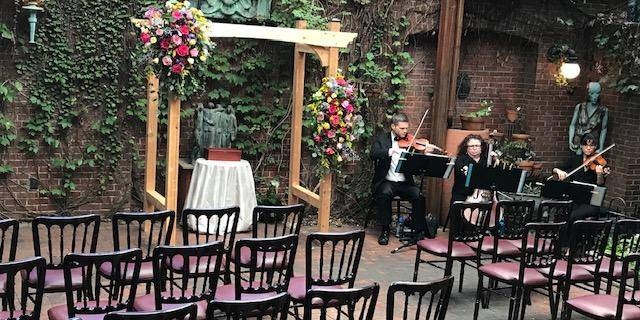 Hotel Tabard Inn wedding Washington DC
