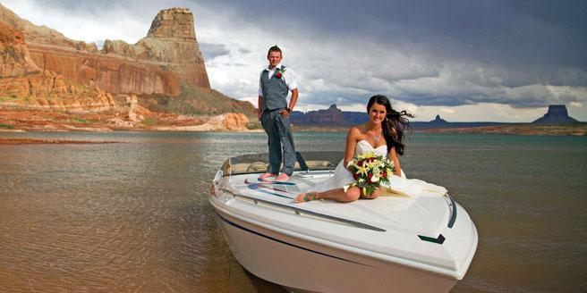 Antelope Point Marina wedding Sedona/Flagstaff