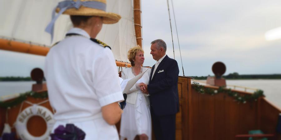 Selina II Sailing Charters, Inc wedding Eastern Shore/Chesapeake Bay