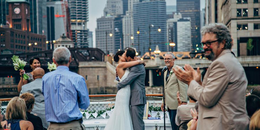 Chicago's First Lady Cruises wedding Chicago