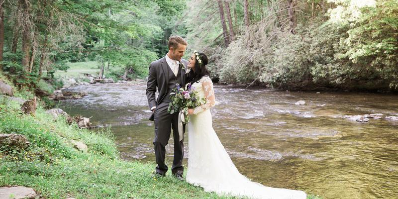 The Lodge at Bear River wedding Asheville