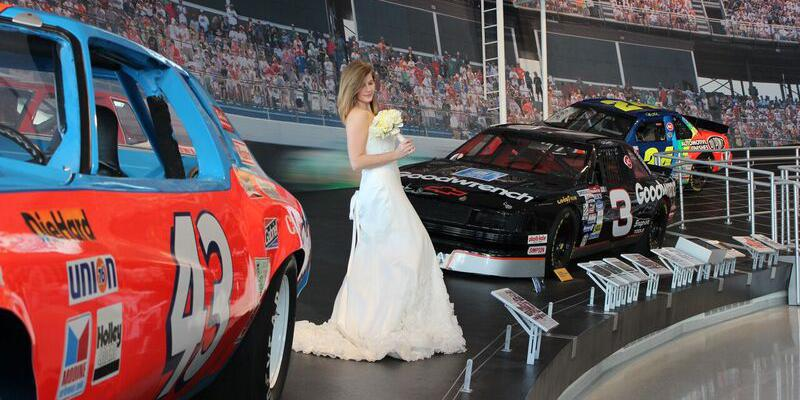 NASCAR Hall of Fame wedding Charlotte