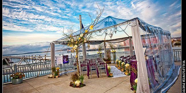 Foss Waterway Seaport wedding Tacoma