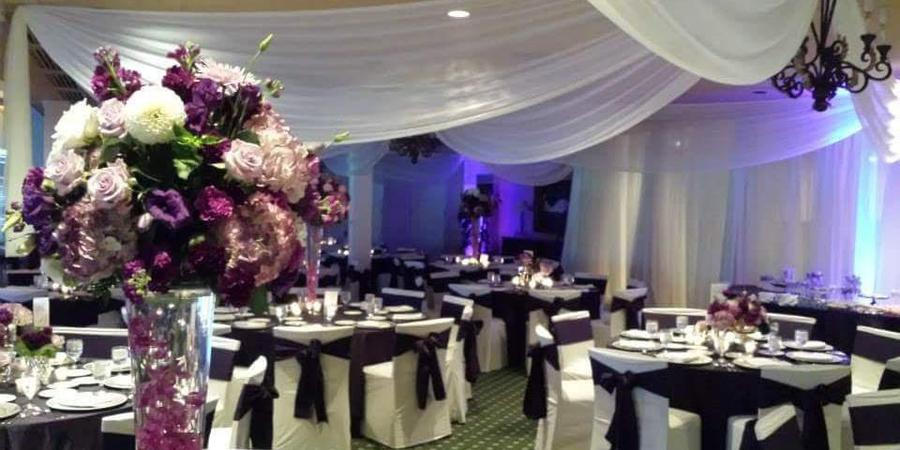 Flint Golf Club wedding Detroit