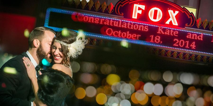 The Fox Theater wedding Spokane