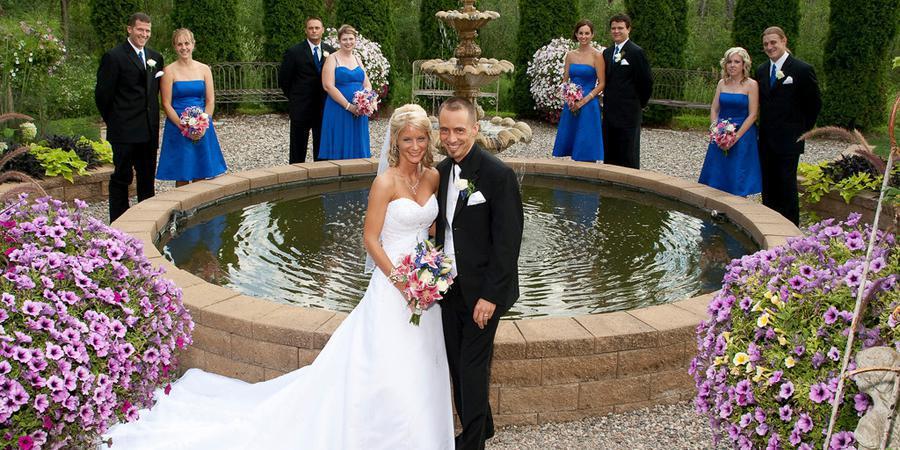 Heavenly Scent Herb Farm wedding Detroit