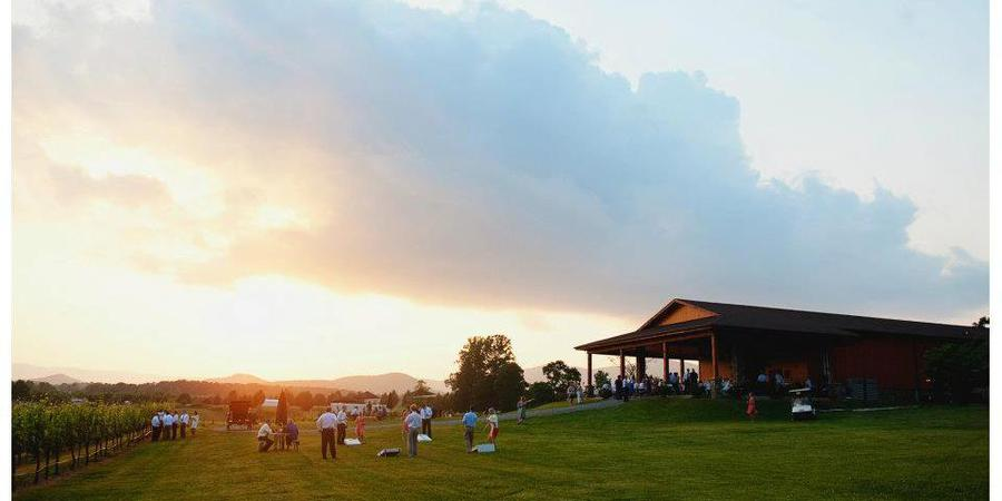 Round Peak Vineyards wedding Greensboro/Triad
