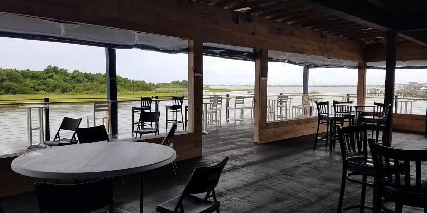 Jack's Waterfront Bar wedding Outer Banks