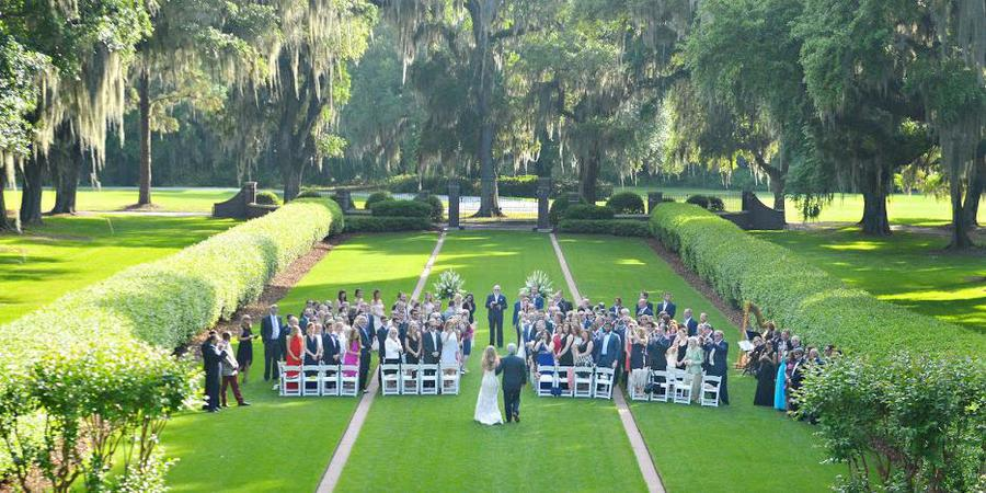 The Ford Plantation wedding Savannah