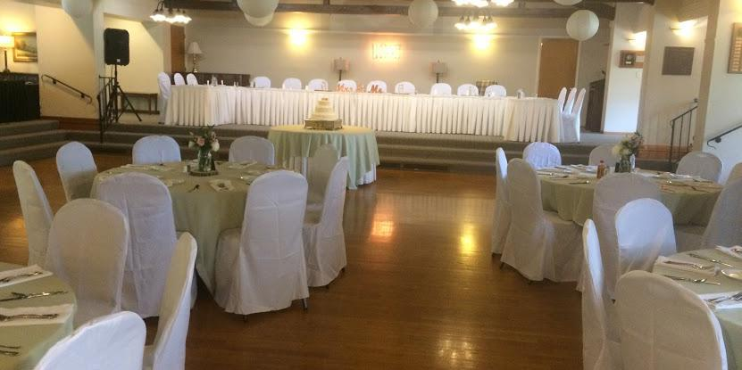 The Clintonville Woman's Club wedding Columbus