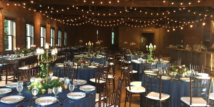 The Century Room on the Park wedding Asheville