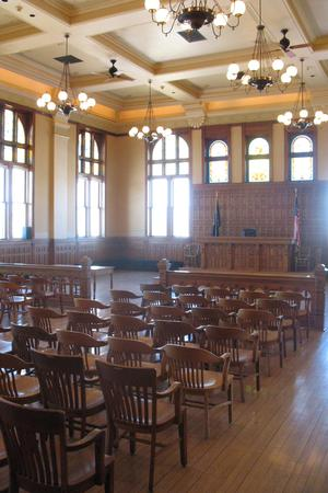 The Old Courthouse Museum wedding Milwaukee