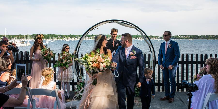 The House of the Seven Gables wedding North Shore
