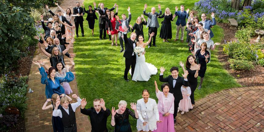 Ainsworth House & Gardens wedding Portland