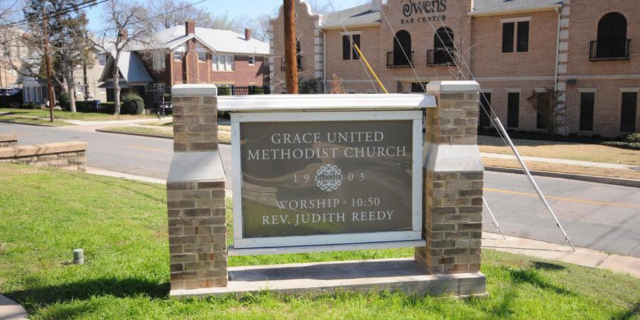 Grace United Methodist Church wedding Dallas