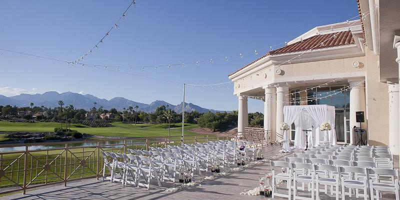 Canyon Gate Country Club wedding Las Vegas