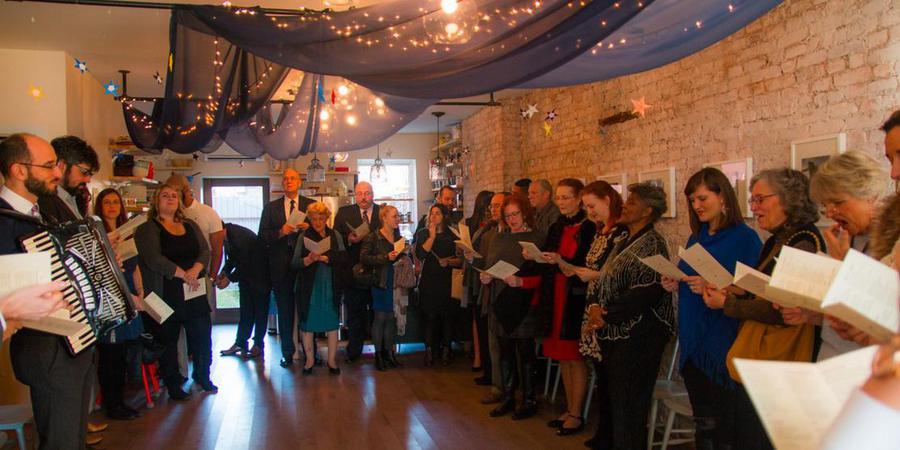 St. Lydia's wedding Brooklyn