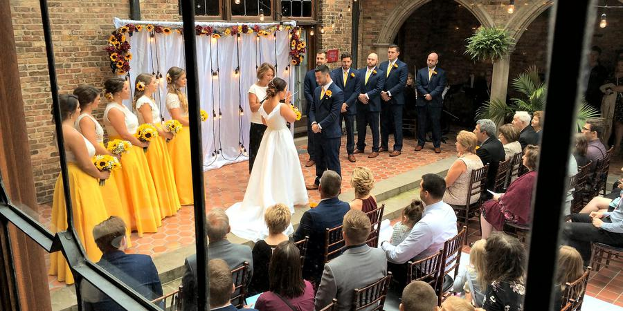 Best Place at the Historic Pabst Brewery wedding Milwaukee