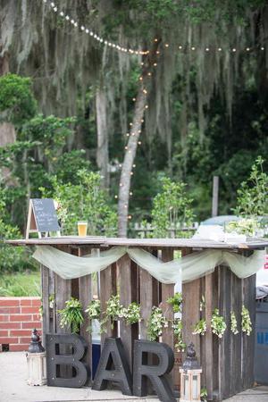 Open Gates Bed & Breakfast wedding Savannah