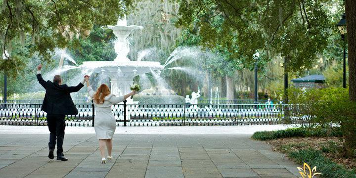 Forsyth Park Inn wedding Savannah