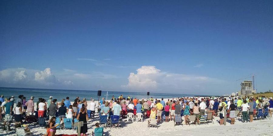 Destin United Methodist Church wedding Northwest Florida