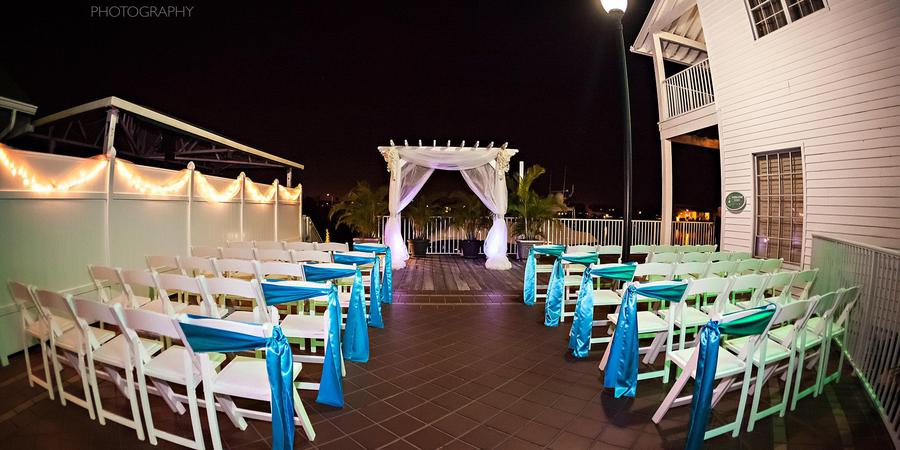 Holiday Inn & Suites Harbourside wedding Tampa
