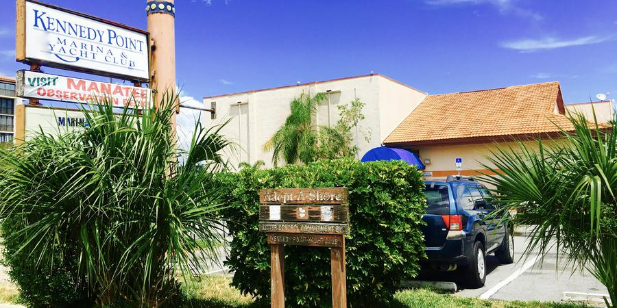 Kennedy Point Yacht Club wedding Central Florida Beaches/Coast