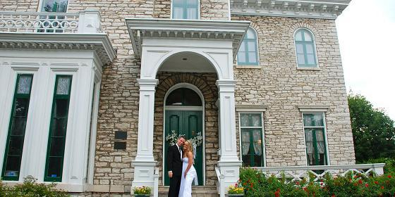 Oakland House Museum wedding St. Louis