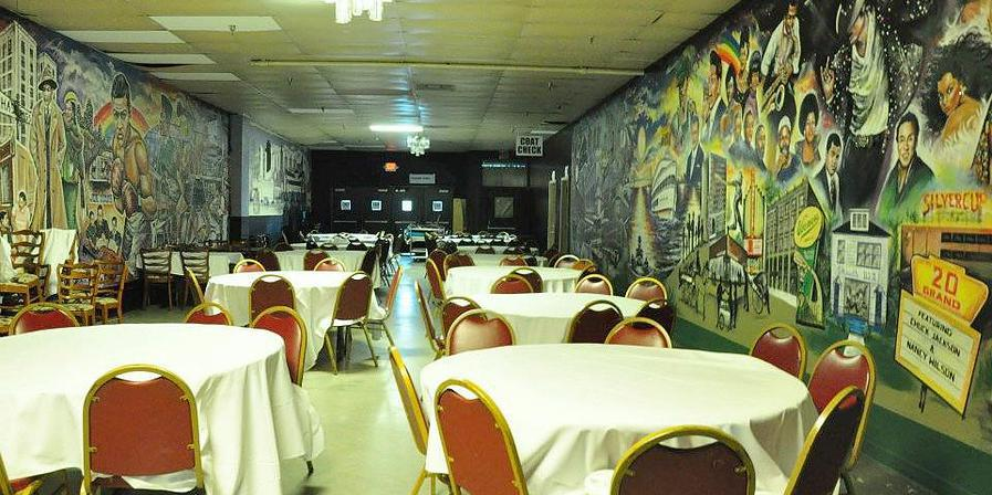 Bert's Entertainment Complex wedding Detroit