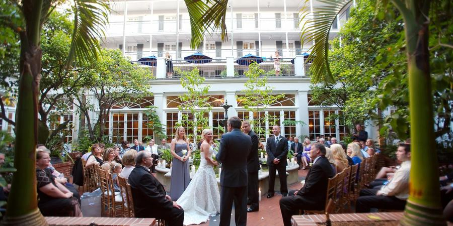 Royal Sonesta New Orleans wedding New Orleans