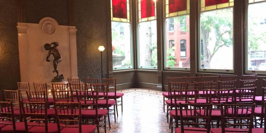 Heurich House Museum wedding Washington DC