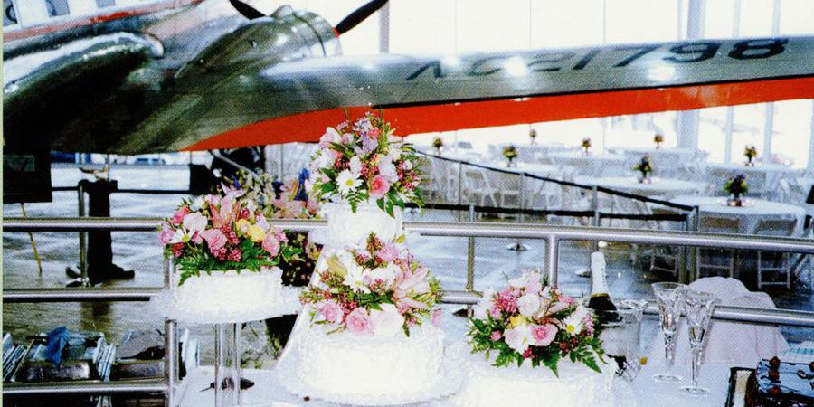 The American Airlines C.R. Smith Museum wedding Dallas