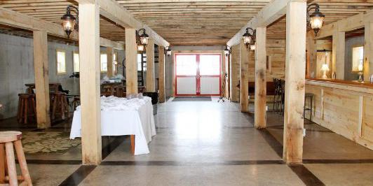 Barn at Jean Acres wedding Eau Claire