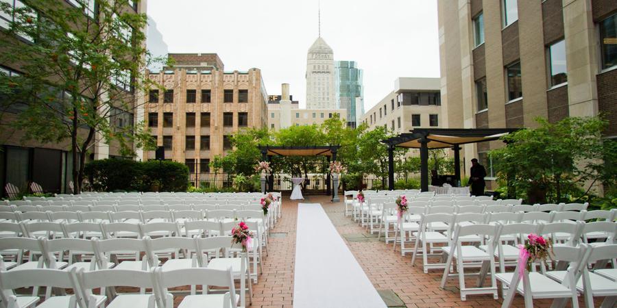 Crowne Plaza Northstar Hotel wedding Minnesota