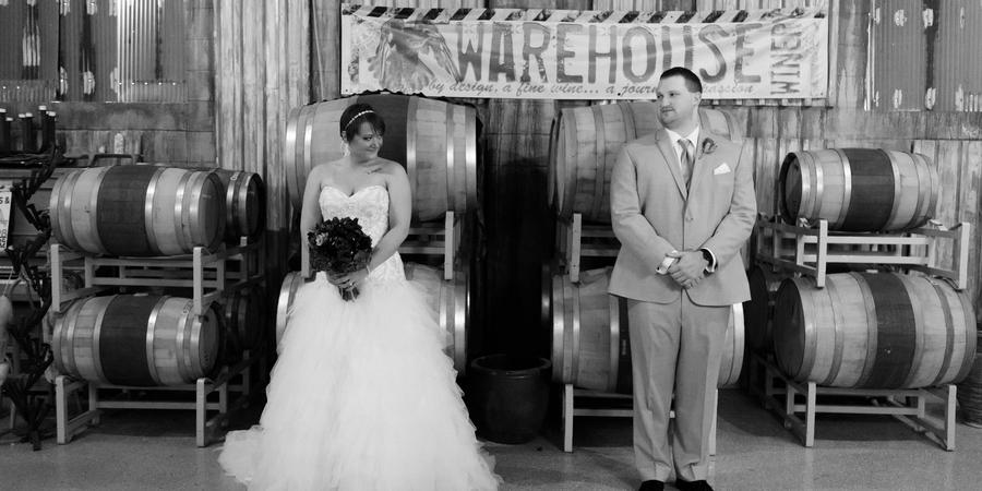 Warehouse Winery wedding Minnesota