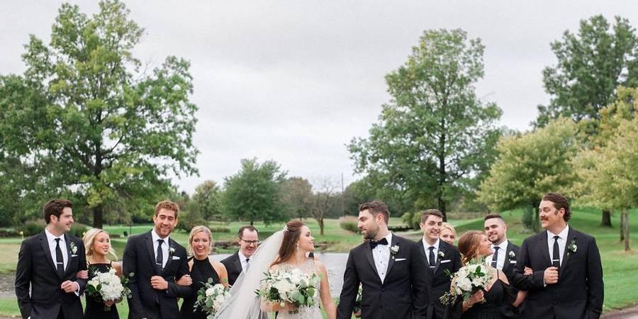 Ruffled Feathers Golf Club wedding Chicago