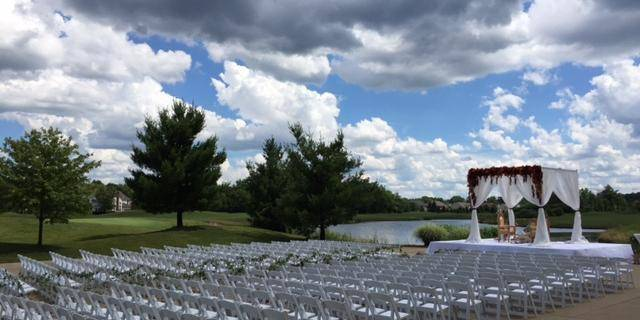 Signature of Solon Country Club wedding Cleveland