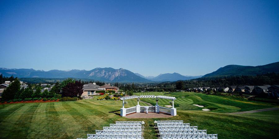 The Club at Snoqualmie Ridge wedding Seattle