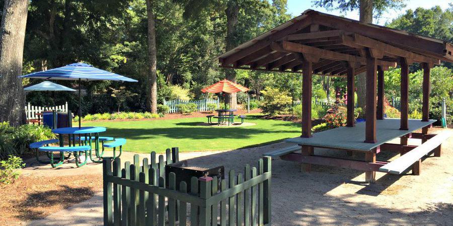 New Hanover County Arboretum wedding Wilmington