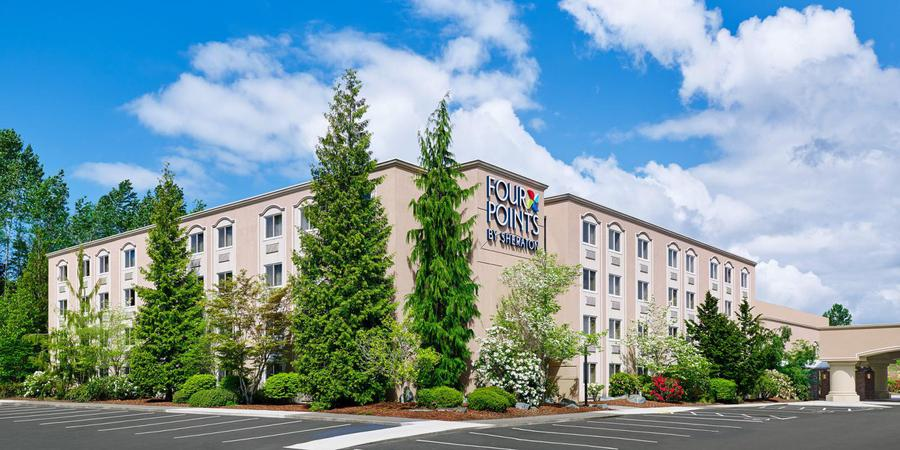 Four Points by Sheraton Bellingham Hotel wedding Everett