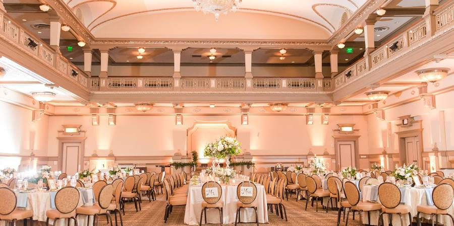 The John Marshall Ballrooms wedding Richmond