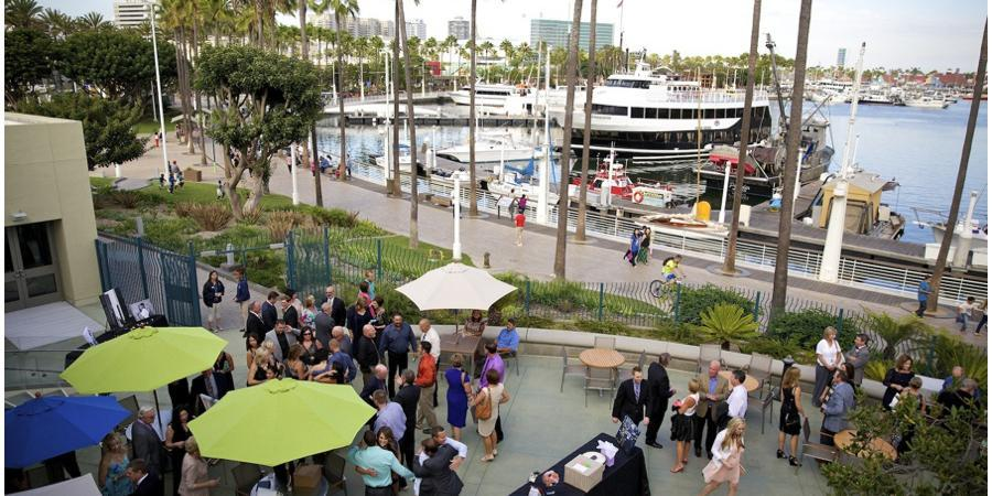 Aquarium of the Pacific wedding Los Angeles