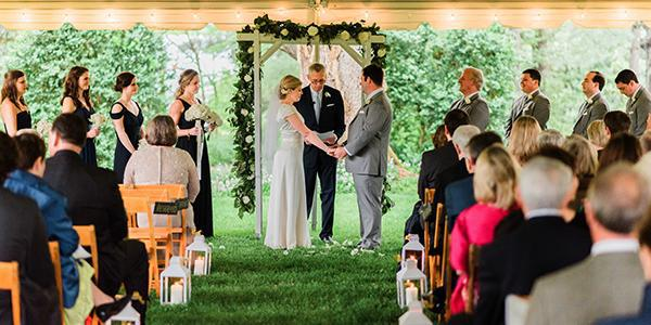 The Greencroft Club wedding Charlottesville