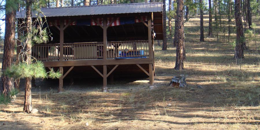 Camp Fire Camp Dart-Lo wedding Spokane