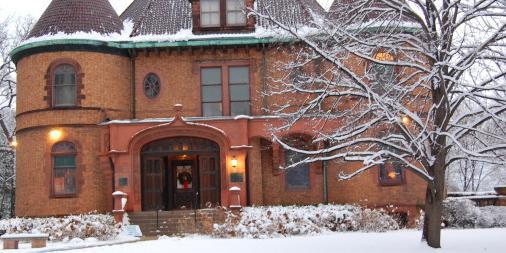 Evanston History Center at The Charles Gates Dawes House wedding Chicago