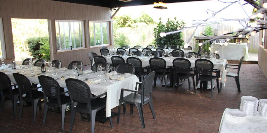 The Ivy Inn Restaurant wedding Charlottesville