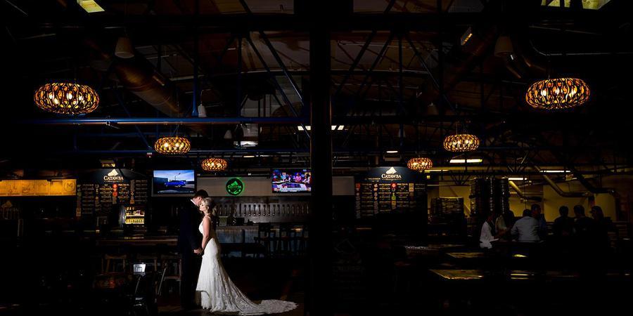 Catawba Brewing Company wedding Charlotte